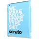 Serato GDNA0233 Ipad Cover Rolls Royce Blue