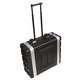 Ultimate 4 Space Molded Portable Audio Rack Case +
