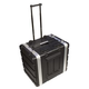 Ultimate UR8LTH 8U Audio Rack Case W/ Wheels