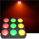 Chauvet CORE 3x3-Watt LED Pixel Mapping and Wash Panel