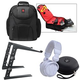 Pro Dj Headphones Backpack Laptop Stand Pack     +