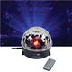Solena LED Crystal Ball Effect Light w/ Remote
