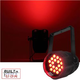 Mega Lite Unicolor CM5 Red 18x 3W LED Wash