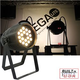 Mega Lite Unicolor CM5 Warm White 18x 3W LED Wash
