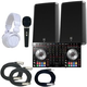 Pioneer DDJ-SX2 DJ Controller Bundle with Electro-Voice ZLX15P Speakers