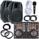 Stanton DJC4 Complete DJ Package with American Audio ELS15A Speakers