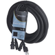 Accu-Cable SKAC10 10Ft AC Power & XLR Combo Cable