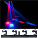 ADJ American DJ Event Bar Q4 RGBW with 4 LED Pinspot Lights