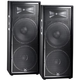 JBL JRX225 Dual 15 in Passive DJ PA Speaker Pair *