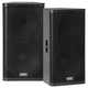 QSC KW152 15 in 2 Way Powered PA Speaker Pair