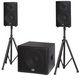 B-52 Matrix 2500 Complete 3-Piece Powered PA System