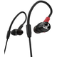 Pioneer DJE2000K Pro In Ear DJ Headphones Black