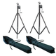 Pair Of ST-132 Stands Plus (2) Road Bags Pack    +