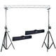 Pair Of ST-132 Stands Plus 12 In Triangle Truss  *