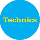 Technics Yellow Logo Turntable DJ Slipmat (pair)
