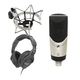 Sennheiser MK4 Condenser Mic Plus Headphones Pack