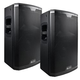 Alto Black 15 in 2 Way Powered PA Speaker Pair