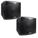 Alto Black 15S 15-Inch Powered Subwoofer Pair