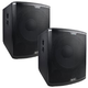 Alto Black 18S 18 in Powered PA Subwoofer Pair   *