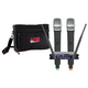 VocoPro UHF28 channel Wireless Mic w Gator Bag