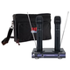 VocoPro Dual Handheld Rechargeable Vocal Mic w/ Bag