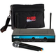 Gemini UHF-216M Handheld Wireless Mic w Gator Bag