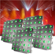 Chauvet Nexus AQ 5x5 LED DMX 4 Pack with Flight Case