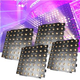 Chauvet Nexus 7x7 LED Panel 4 Pack with Road Case