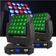 Chauvet NEXT NXT-1 LED RGBW 2 Pack W/ Flight Case