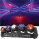 Chauvet Intimidator Wave IRC 5x Moving LED Lights