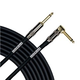 Mogami Platinum Guitar Str to Rt 1/4 Cable 3ft
