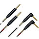 Mogami Stereo Balanced Dual TRS to TRS Cable 6Ft