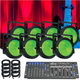 ADJ American DJ Dotz Par 8 Pack LED Light System