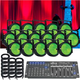 ADJ American DJ Dotz Par 16 Pack LED Light System