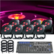 American DJ Ultra HEX Par3 8 Pack LED Light System