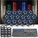 ADJ American DJ 5P Hex RGBAWUV 16 Pack LED Light System