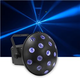 Eliminator LED Mushroom RGBWA Effect Light