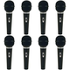 Audio Technica ST90 Dynamic Microphone 8 Pack
