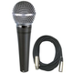 Shure SM48S-LC Dynamic Mic w/ Switch & XLR Cable