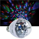 Solena Mini Screw-In RGB LED Rotating Effect Bulb