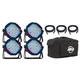 ADJ American DJ Mega Flat Pak Plus LED Light System