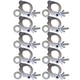 Global Truss Eye Clamp 2-Inch Wrap Around 10 Pk