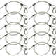 Steel Light Fixture Safety Cable w/ Latch 10 Pack