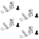 Global Truss Half Coupler for Baseplate 4-Pack