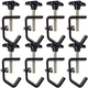 Metal Light Duty C-Clamp For Truss 8-Pack