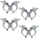 Global Truss 2in Pro Swivel Mounted Clamp 4 Pack