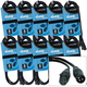 Accu-Cable 3-Pin XLR 5ft DMX Light Cable 10 Pack