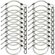 Steel Light Fixture Safety Cable w/ Latch 20 Pack