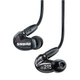 Shure SE215 Isolating In-Ear Earphones Black
