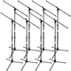 On-Stage MP-A300 Boom Microphone Stand - 8 Pack
